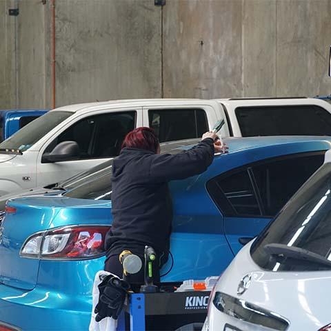 Tru Blue Smash Repairs Hail Damage
